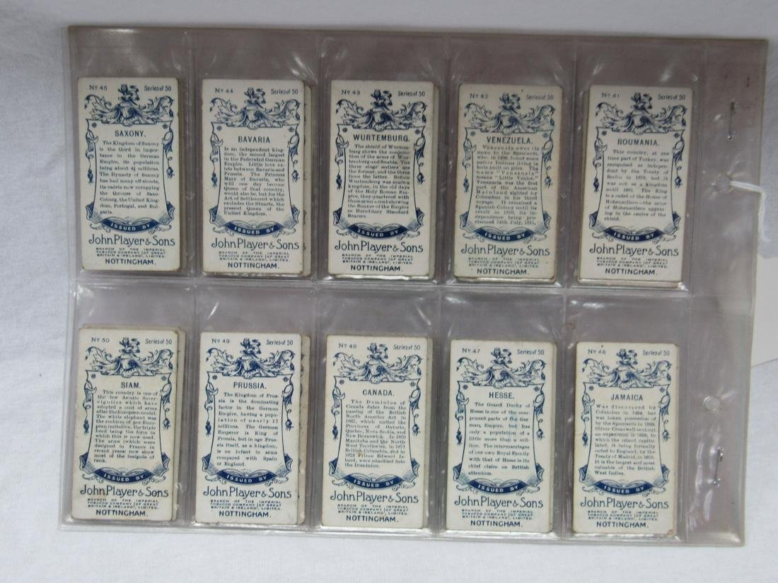 Set of 50 Player's Cigarette Flags from 1928 - 6