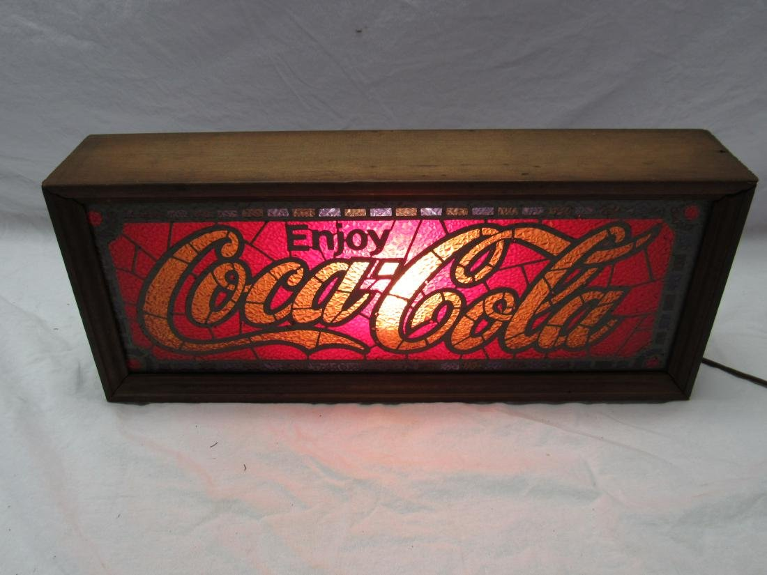Vintage Coca-Cola Mantle Sign