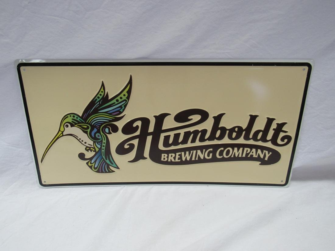 Humboldt Brewing Company Sign