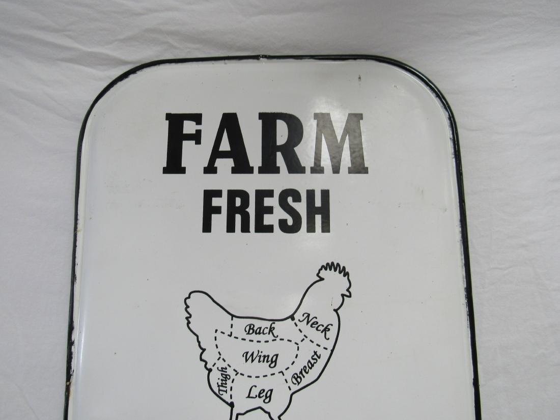 Farm Fresh Butcher's Sign - 2