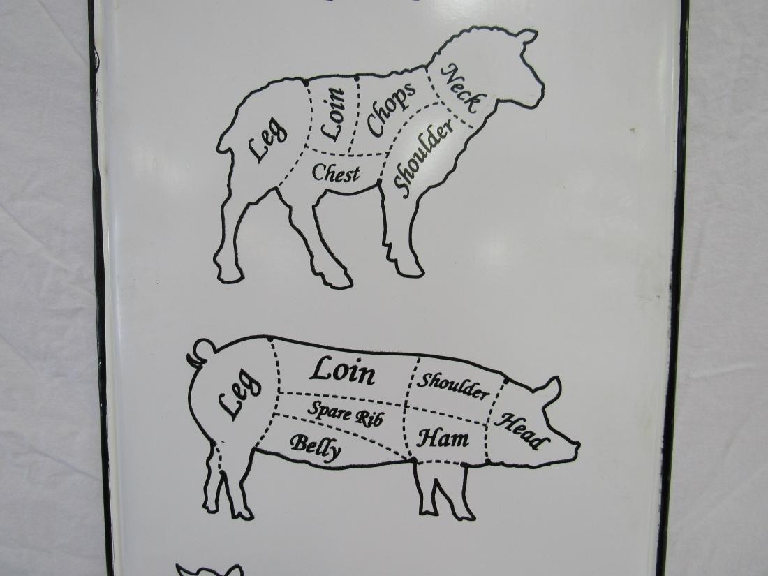Farm Fresh Butcher's Sign - 3