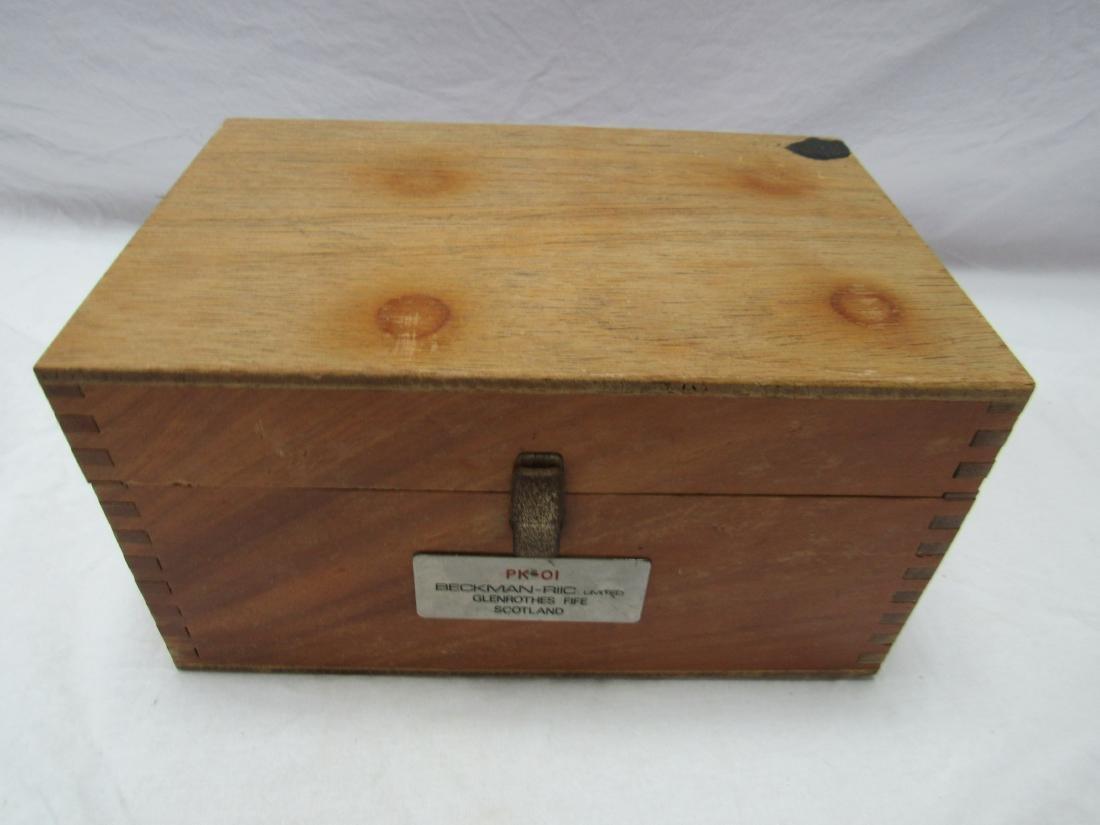 Vintage Beckman-RIIC Rock Salt Polishing Kit - 2