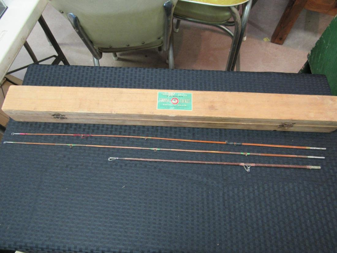 Vintage Mermaid Brand Supirior Fishing Tackle Fly Rod