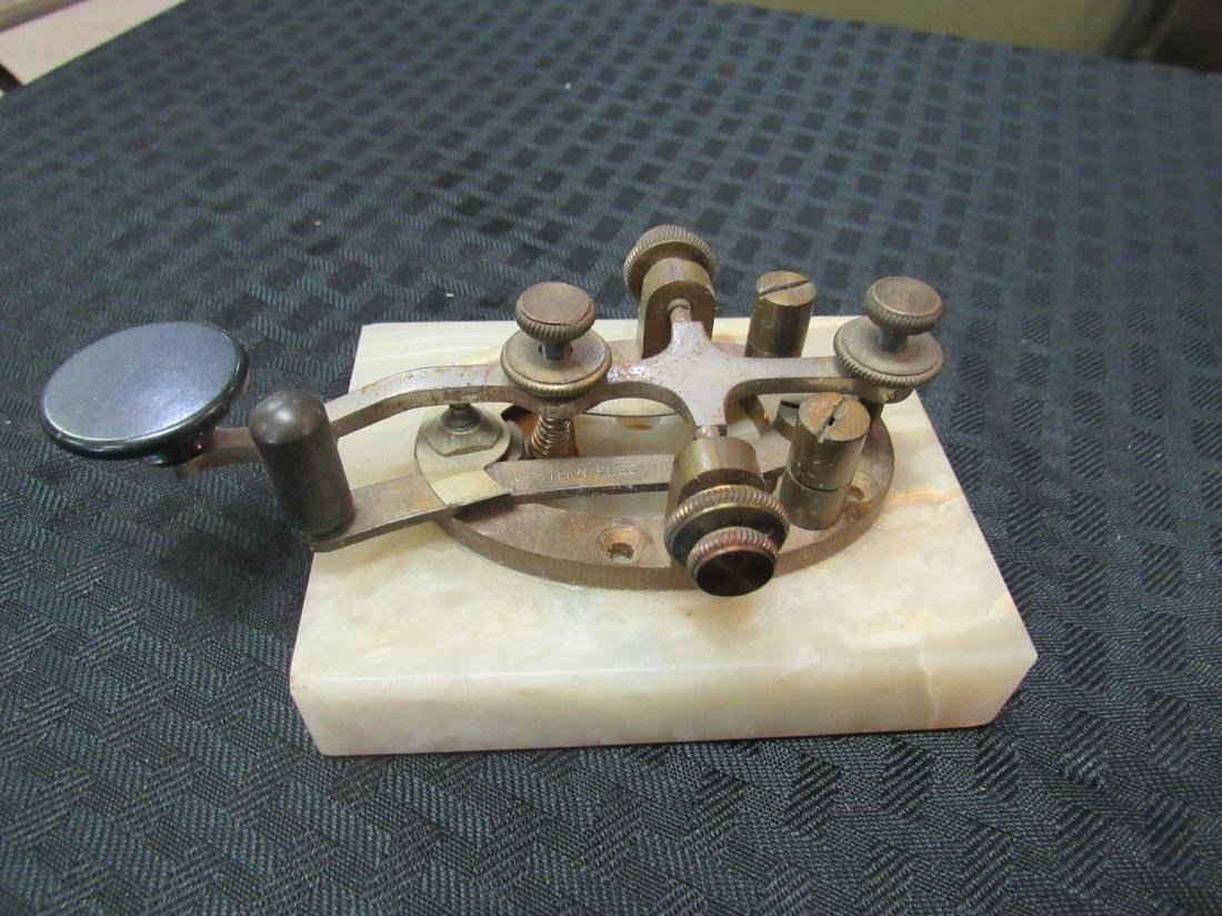 Western Electric Telegraph Key and Sounder - 2