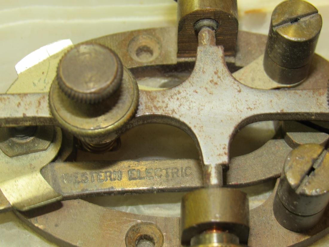 Western Electric Telegraph Key and Sounder - 3
