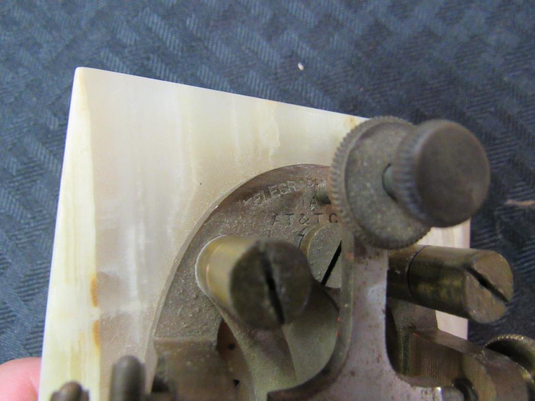 Western Electric Telegraph Key and Sounder - 4
