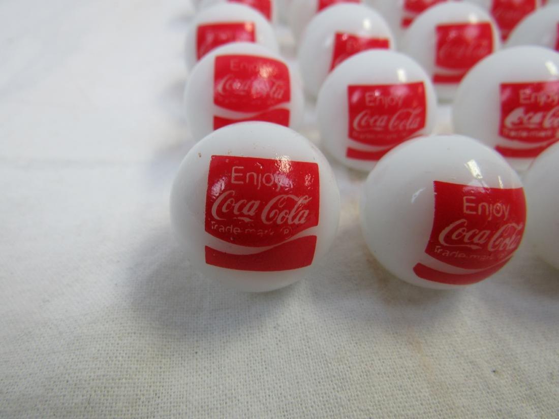 Lot of 30 Vintage Enjoy Coca-Cola Marbles - 2