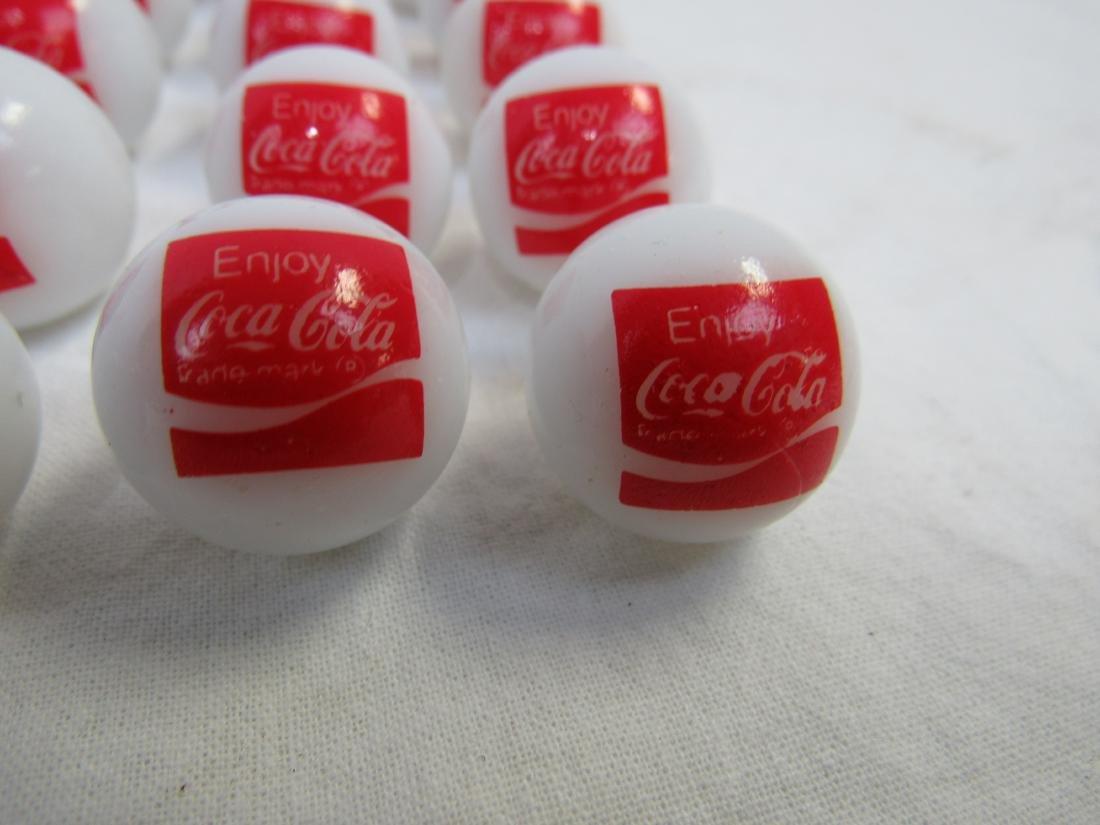 Lot of 30 Vintage Enjoy Coca-Cola Marbles - 3