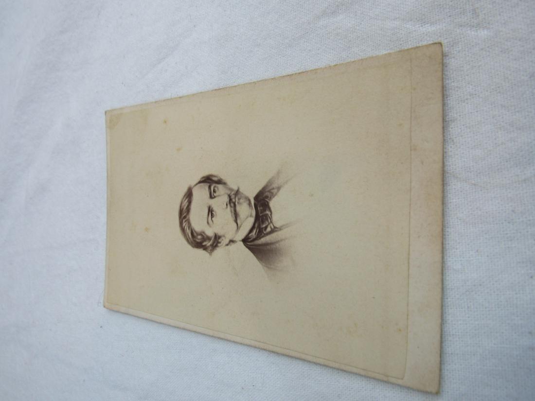 CDV of Civil War Confederate Navy Admiral Raphael