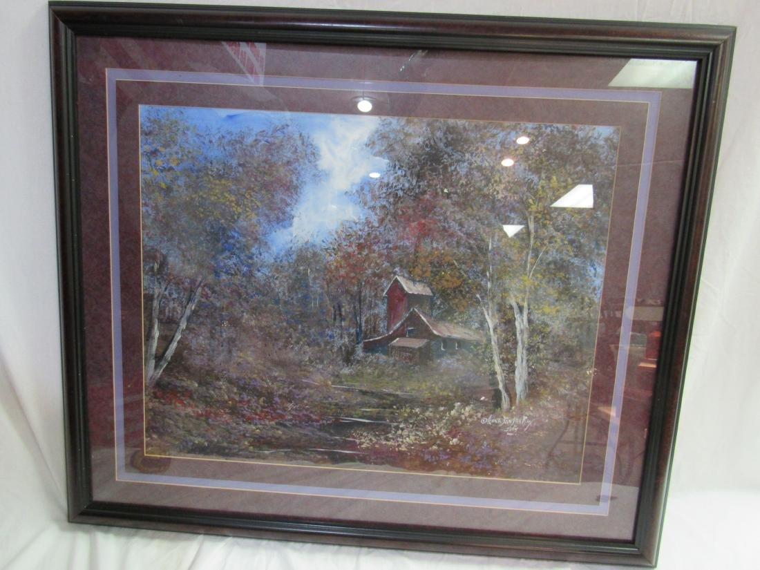 Anna Sandhu Ray Original Pastel