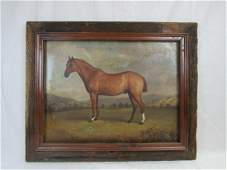Original 19th Century W.R. Waters Oil on Canvas,