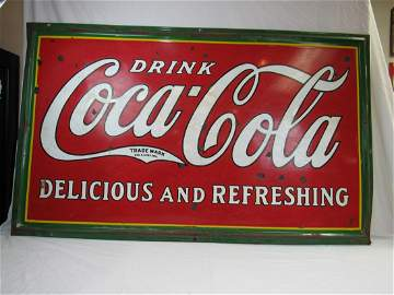1932 Tenn Mfg Co Coca-Cola Sign