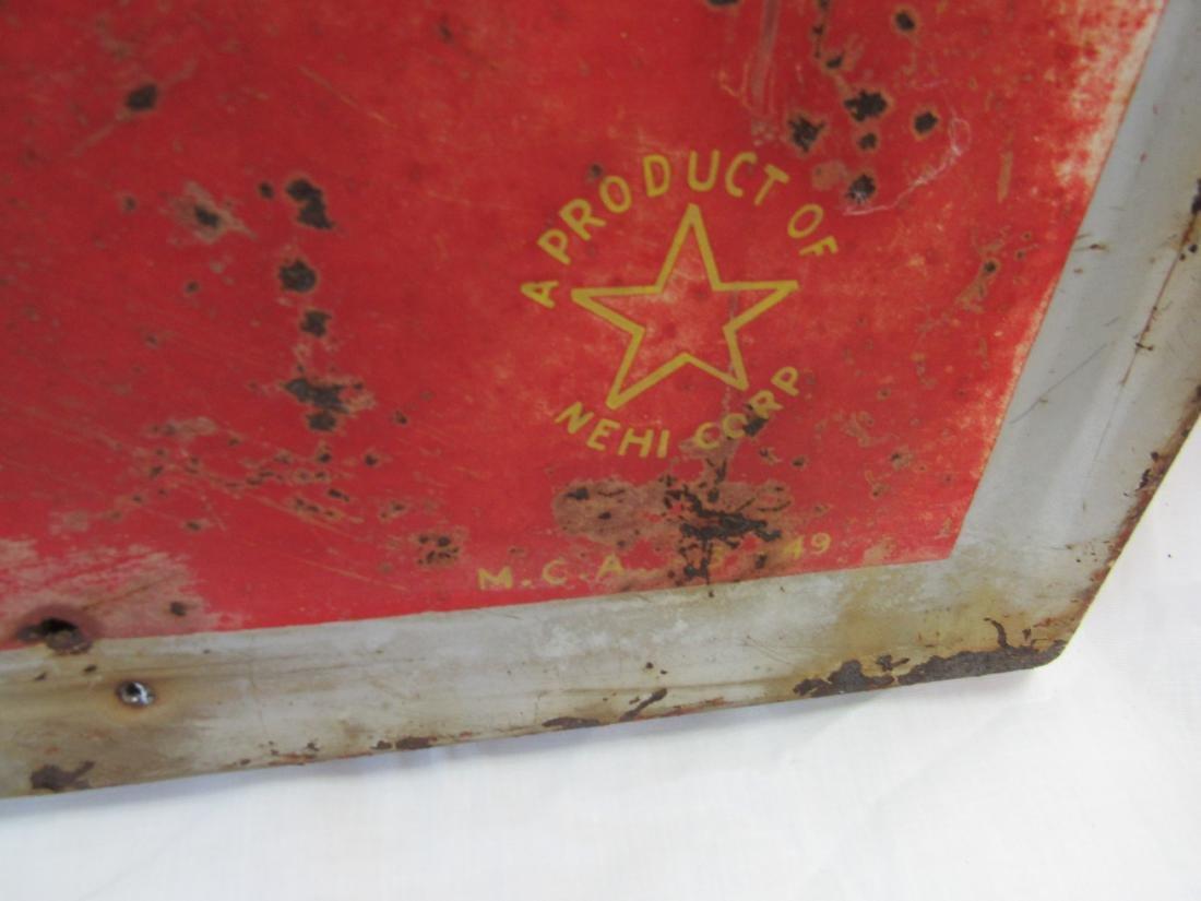 1949 Drink Royal Crown Cola Metal Sign - 2