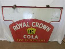 Early RC Cola Double Sided Porcelain Sign