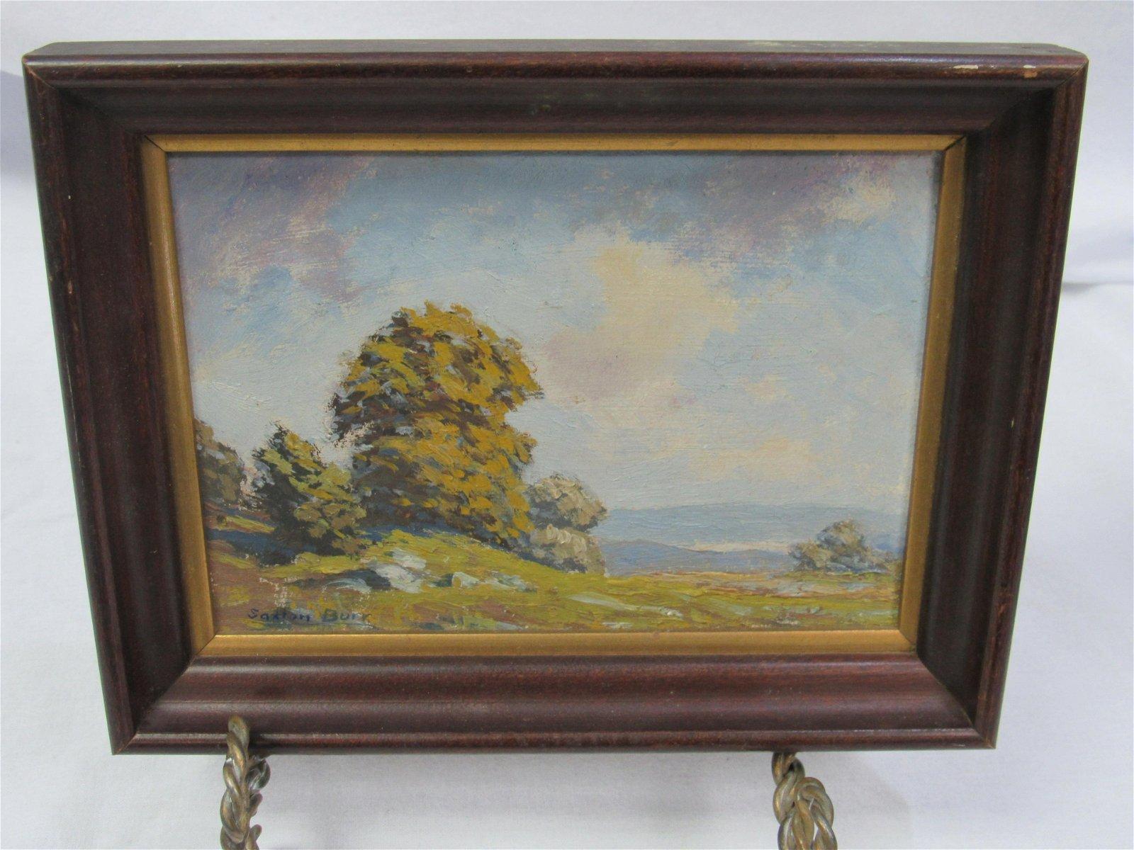 Saxton Burr (1889-1973) Landscape