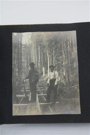1910 Photo Album with 45 Pictures.