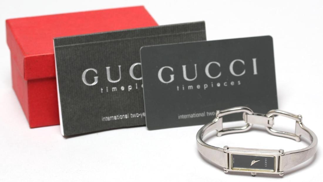 Gucci Cased 1500L Lady's Bracelet Watch