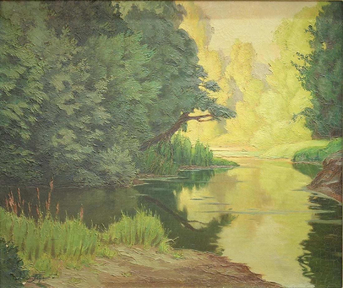 Armand J. B. Segaud (b.1875) - Oil on Canvas