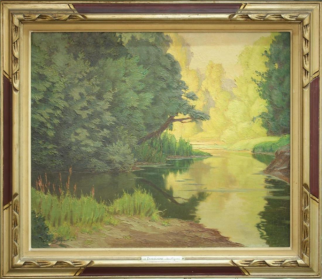 Armand J. B. Segaud (b.1875) - Oil on Canvas - 2