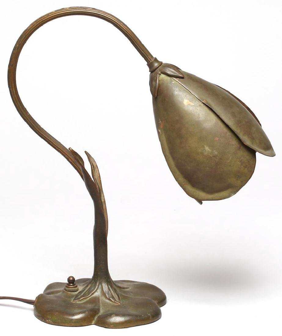 "McClelland Barclay Bronzed ""Crocus"" Lamp, ca. 1935 - 2"