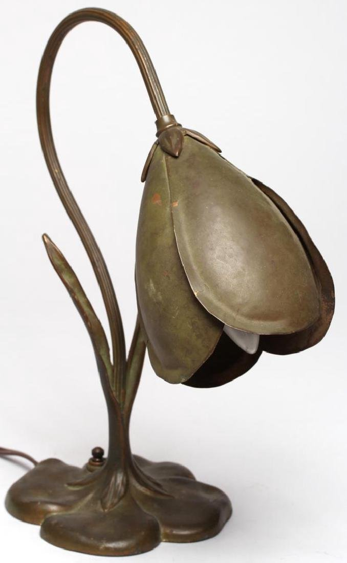 "McClelland Barclay Bronzed ""Crocus"" Lamp, ca. 1935 - 3"