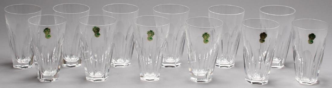 "12 Waterford ""Sheila"" Crystal Tumblers"