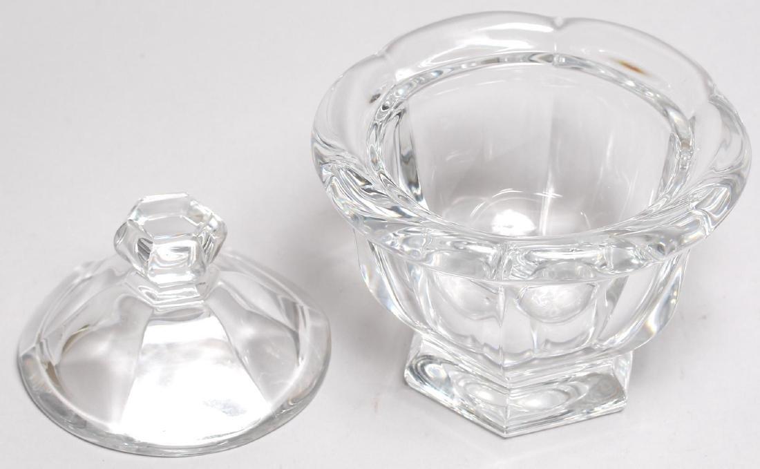 "Baccarat Colorless Crystal ""Missouri"" Sugar Bowl - 3"