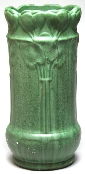 Weller Pottery Art Nouveau Umbrella Stand