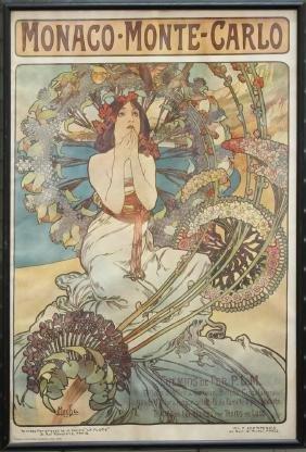 After Alphonse Mucha (1860-1939) - Poster