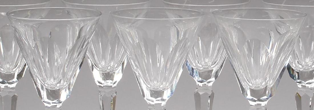 """12 Waterford """"Sheila"""" Crystal Claret Wine Glasses - 2"""
