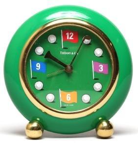 Tiffany & Co. Golf-Themed Alarm Clock