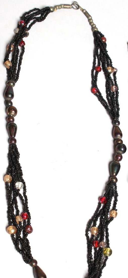 8 Assorted Ethnic, Tribal & Costume Necklaces - 8