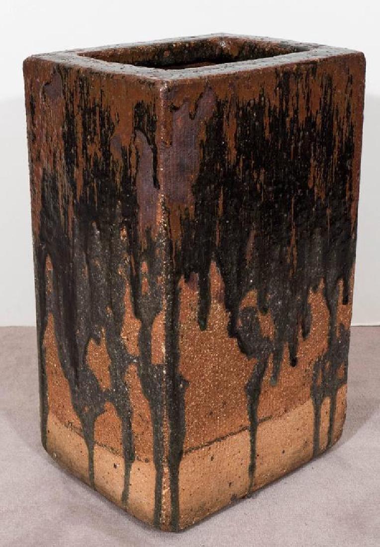 Modern Drip Glaze Pottery Umbrella Stand - 7