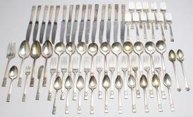"Group of Oneida ""Coronation"" Silver-Plate Utensils"