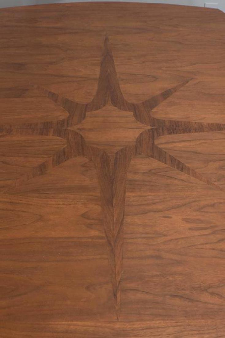 John Stuart Dining Table with Compass Rose - 4