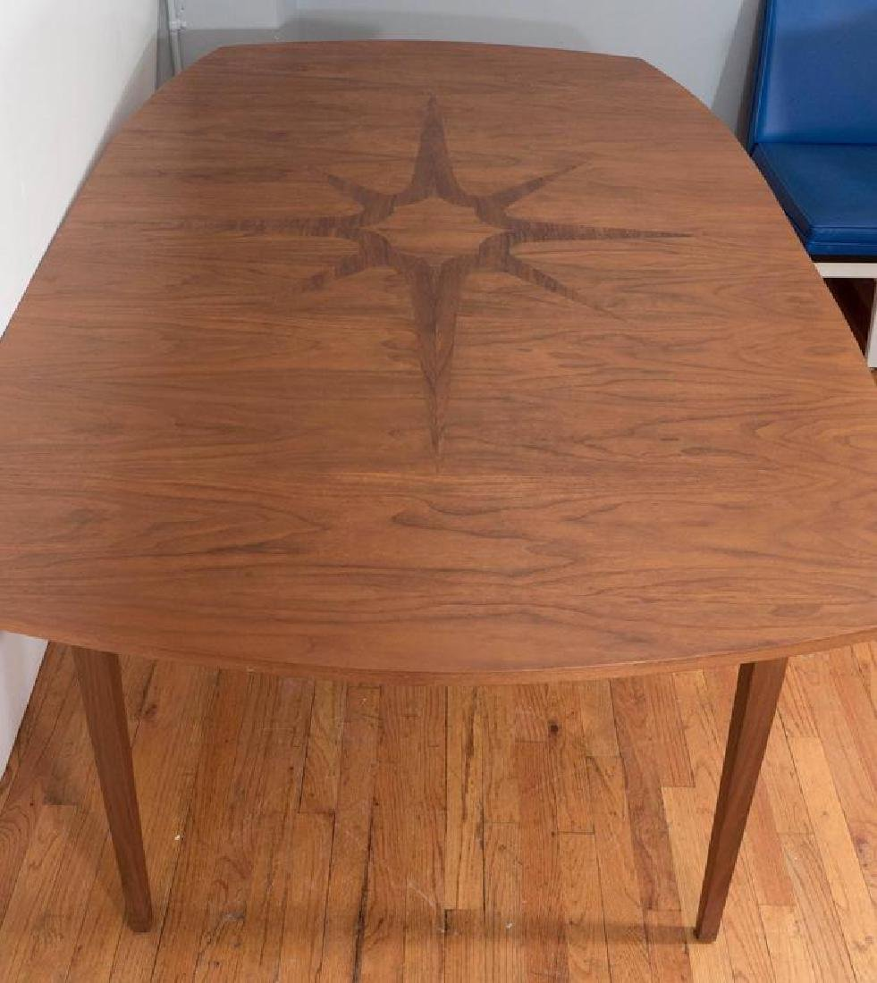 John Stuart Dining Table with Compass Rose - 5