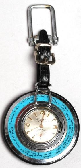 "Vintage Novelty ""Roulette Wheel"" Pocket Watch"