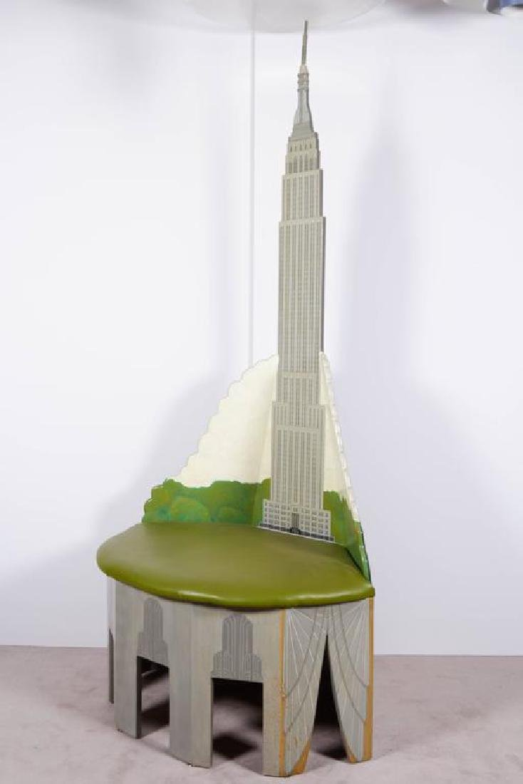 "Susan Lee ""Empire State Building"" Chair - 5"