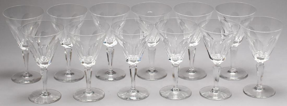 "12 Waterford ""Sheila"" Crystal Water Goblets"
