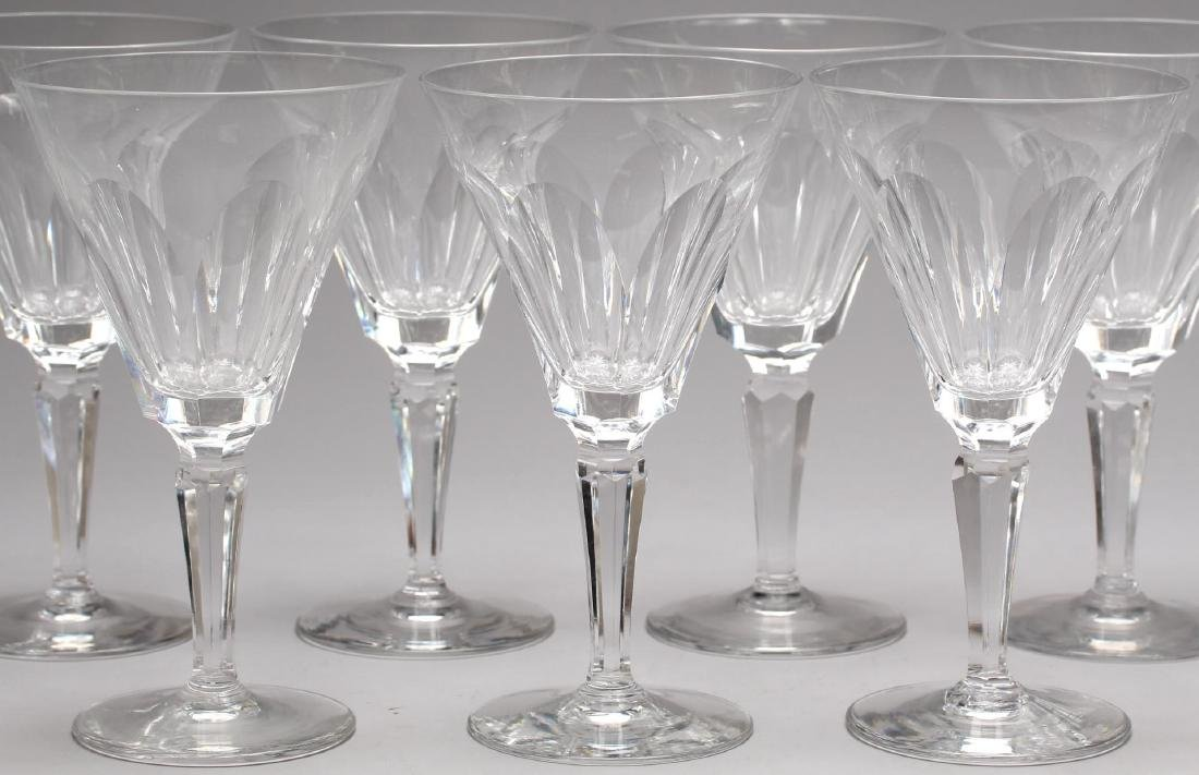 "12 Waterford ""Sheila"" Crystal Water Goblets - 2"