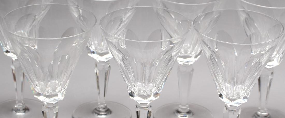 "12 Waterford ""Sheila"" Crystal Water Goblets - 3"