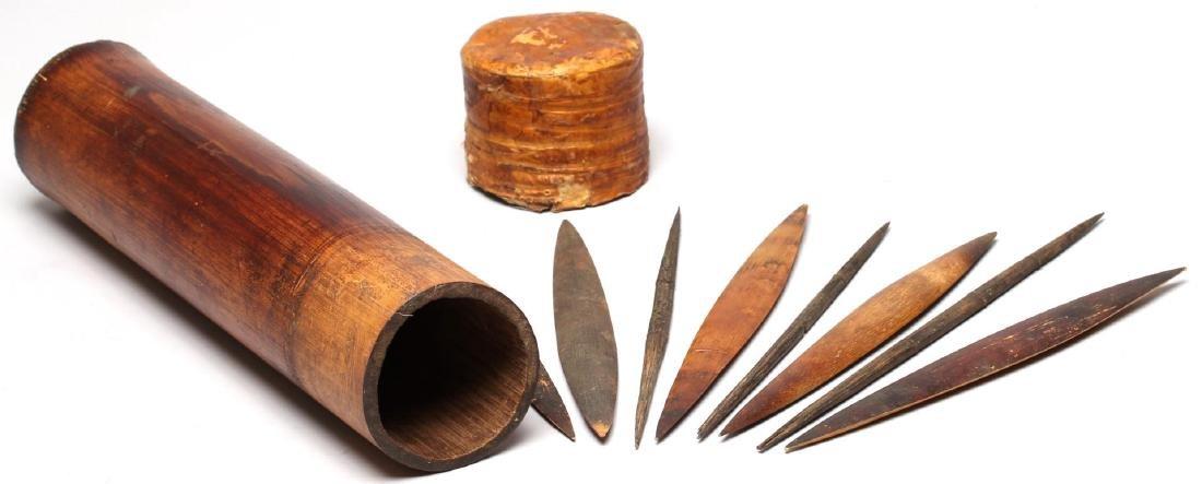 Ethnographic Bamboo Spear Tip Holder