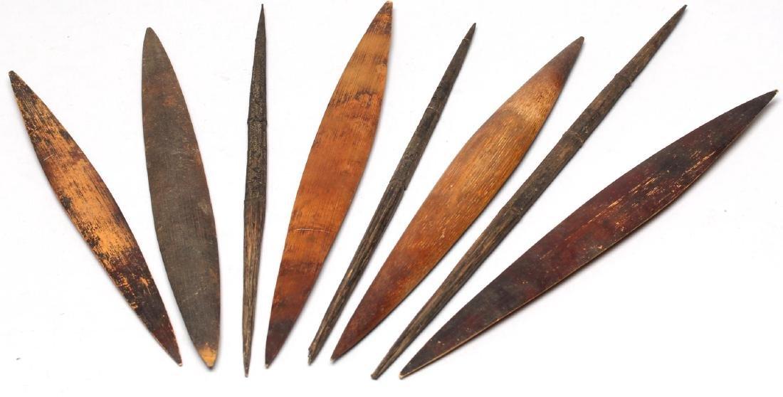 Ethnographic Bamboo Spear Tip Holder - 4