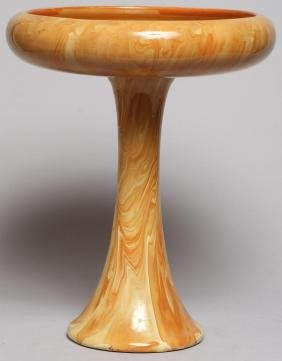 Weller Art Pottery Compote
