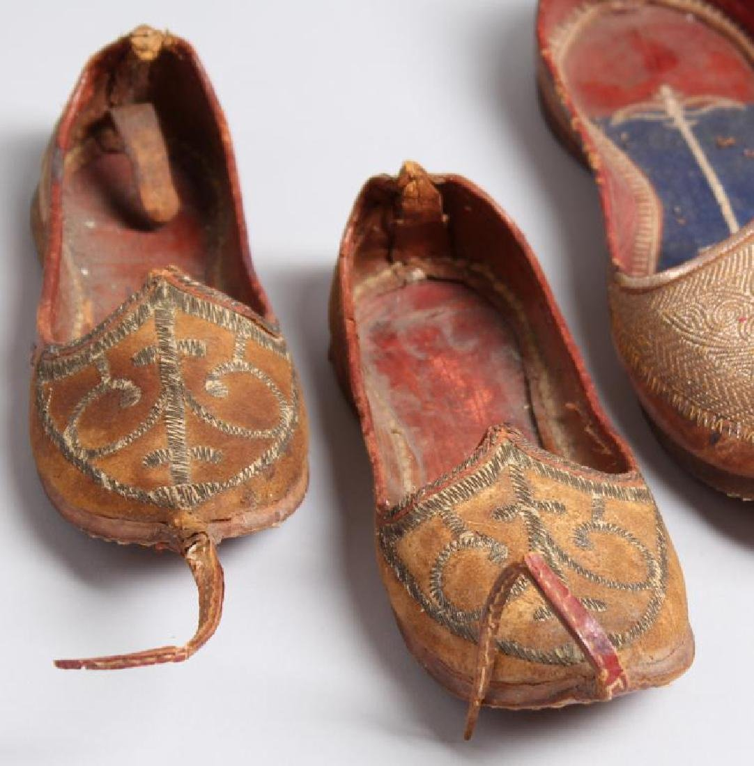 "4 Pairs of Vintage Turkish ""Aladdin Slipper"" Shoes - 2"