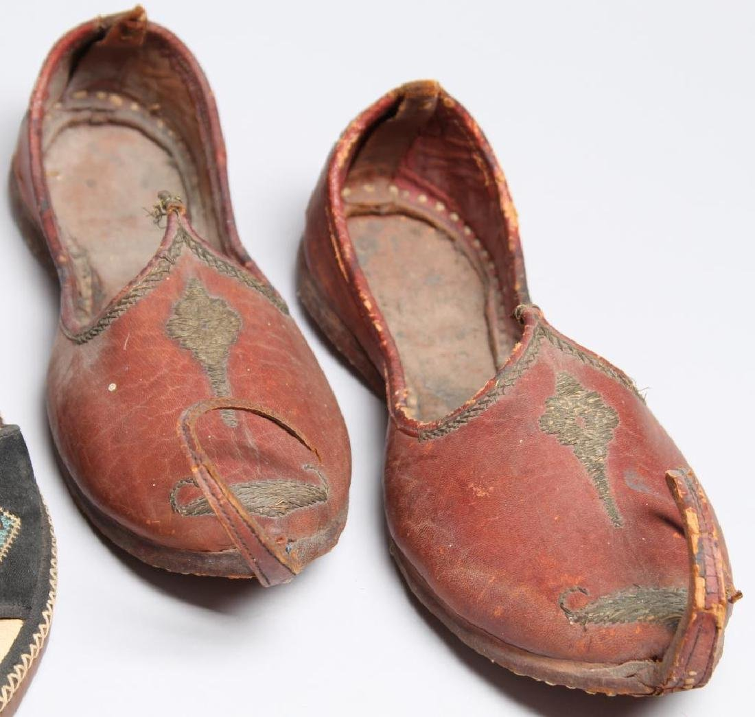 "4 Pairs of Vintage Turkish ""Aladdin Slipper"" Shoes - 4"