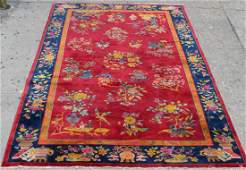 Nichols Chinese Art Deco Wool Carpet 118 X 144