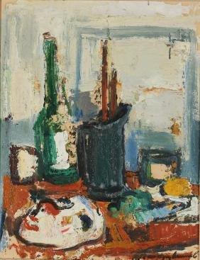 Karel Jan van den Heuvel (Dutch. 1913-1991) - O/B