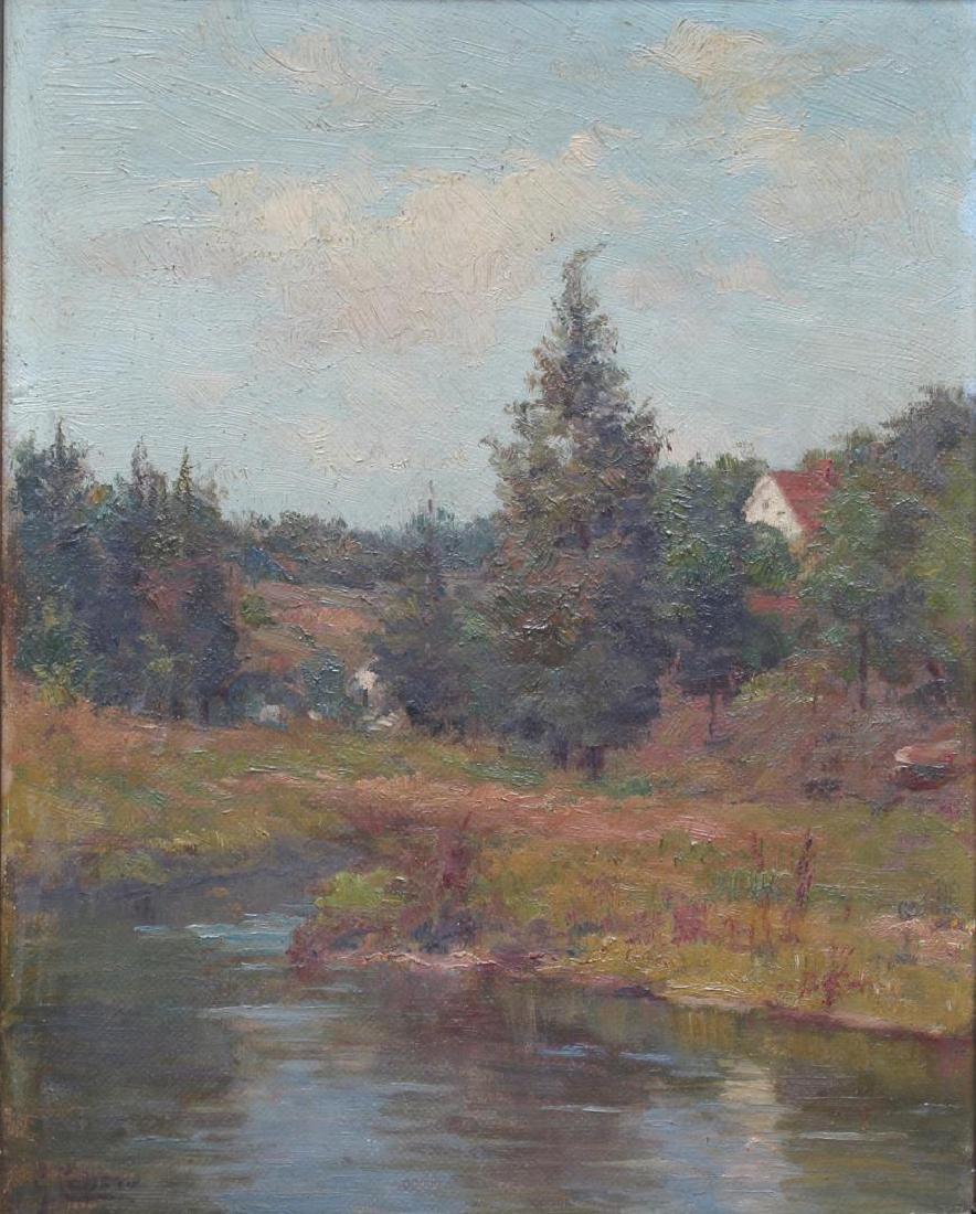Gaetano Capone (Italian, 1845-1924)- Oil on Canvas