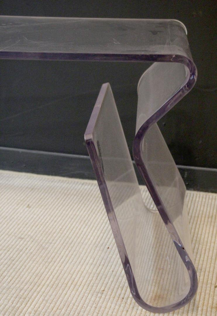 Contemporary Acrylic Baxton Studio Coffee Table - 3